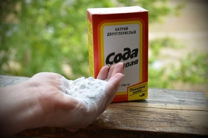 Сода для чистки термоса