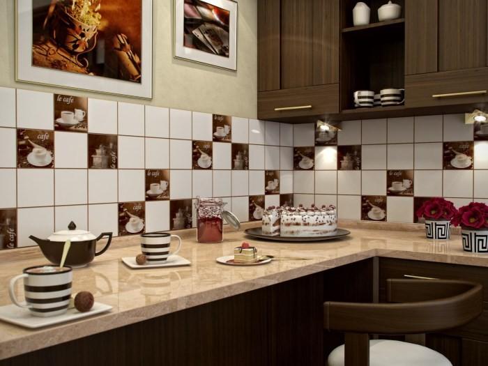 Кафельная плитка для фартука