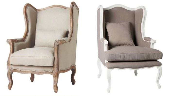 Кресла прованс с «ушами»
