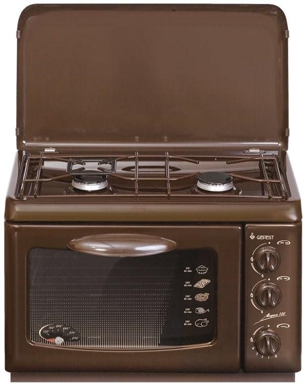Настольная газовая плита с духовкой