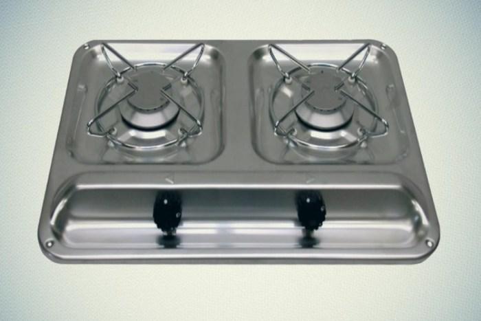 Двухконфорочная газовая плита