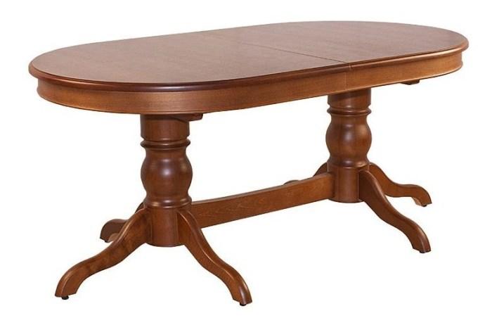 Раздвижной овальный стол