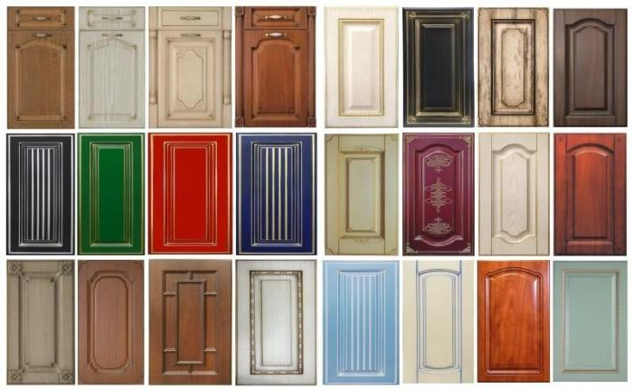 Дверцы шкафа из МДФ