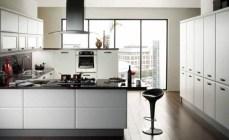 Галерея кухонь белого цвета, часть 2