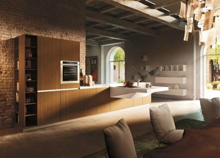Галерея кухонь в стиле лофт, часть 4