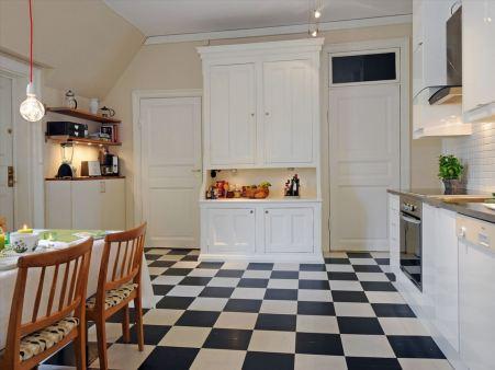 Галерея кухонь в скандинавском стиле, часть 2