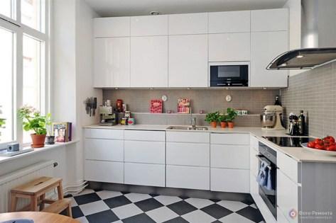 Галерея кухонь в скандинавском стиле, часть 3