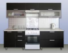 Галерея кухонь цвета венге, часть 3