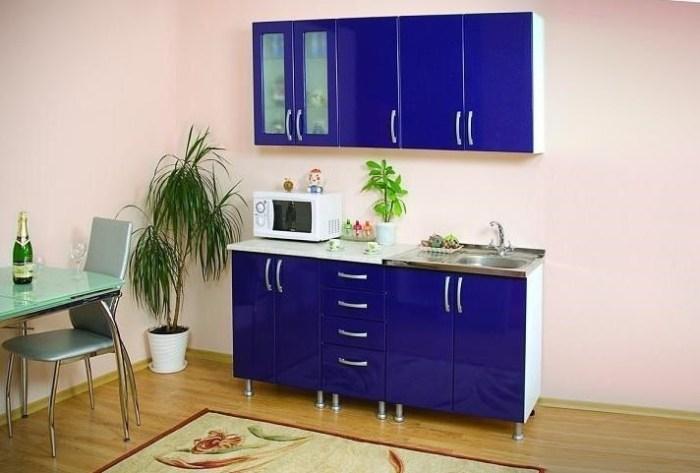 Кухонный гарнитур небольшого размера