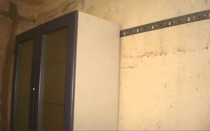 Монтажная планка для подвесных шкафов