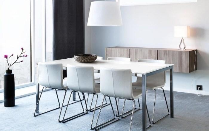 обеденные столы и стулья для кухни из магазина икеа