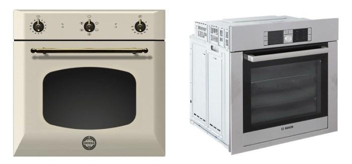 Встраиваемые духовки Ardesia OBC 606 IC и Bosch