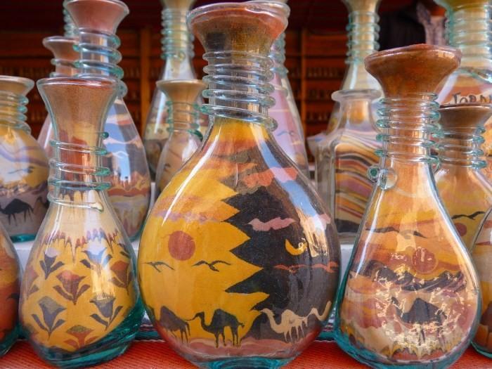 dekor-butylki-solyu Декор бутылок шпагатом своими руками