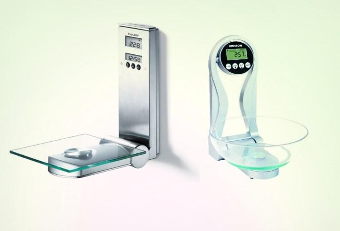 Настенные кухонные весы