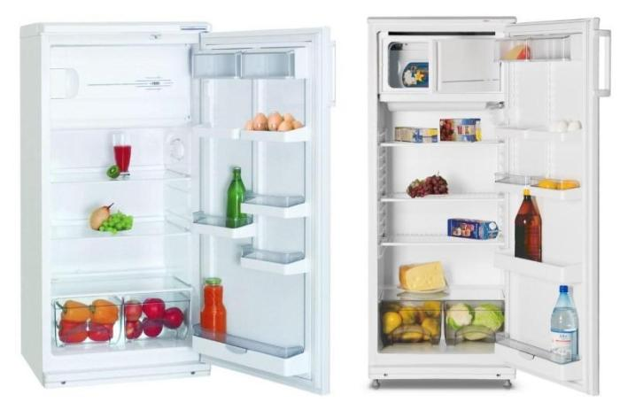 Однокамерные холодильники Атлант МХ 2823-80 и МХ 367-00