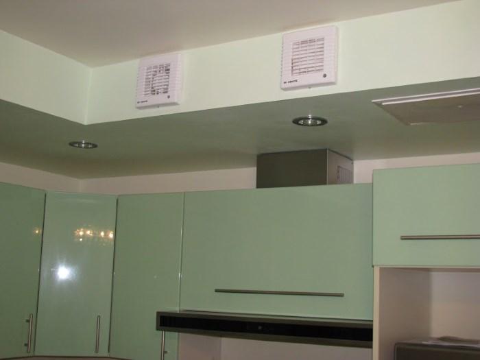 Вытяжные вентиляторы на кухне
