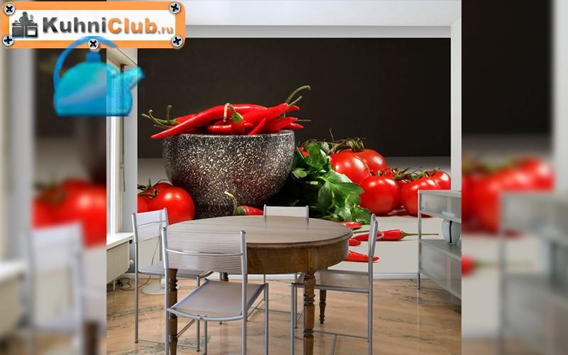Раздвигая горизонты: невероятные кухонные фотообои с эффектом 3D