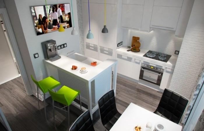 Кухня 12 кв м