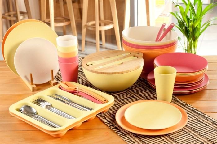 Набор бамбуковой посуды