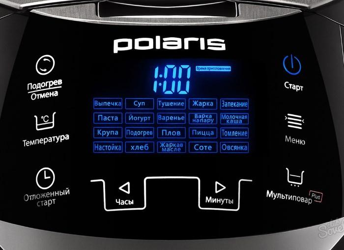 Панель управления мультиварки Polaris PMC 0527D