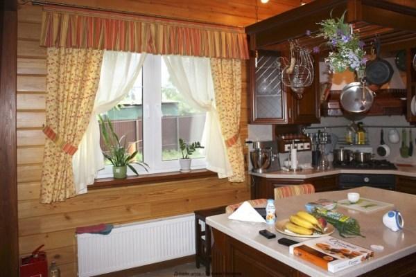 Дизайн штор для кухни: современные кухонные варианты