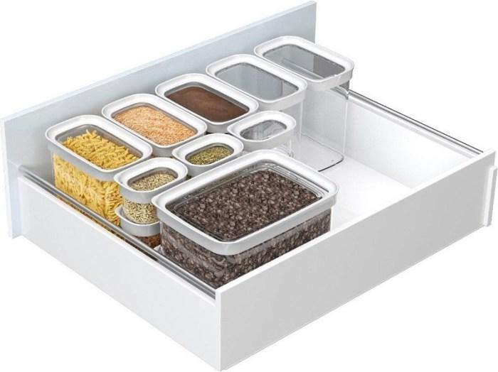 Контейнеры для хранения сыпучих продуктов