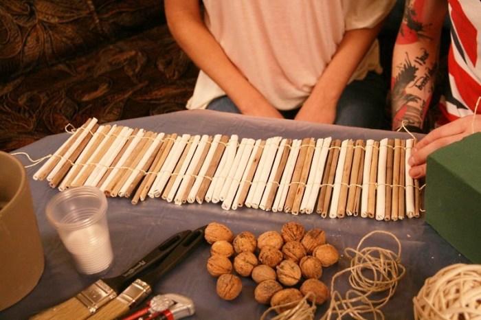 Заготовка для деревянного кашпо