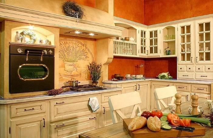 Уютная кухня в стиле прованс