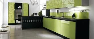 Секреты дизайнеров: как правильно оформить кухню фисташкового цвета