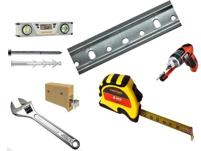 инструменты необходимые для навешивания шкафов