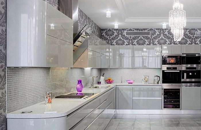 кухня 14 метров в стиле модерн