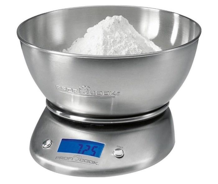 металлические электронные весы с чашей