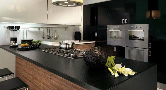 Стиль кухни со встроенной техникой