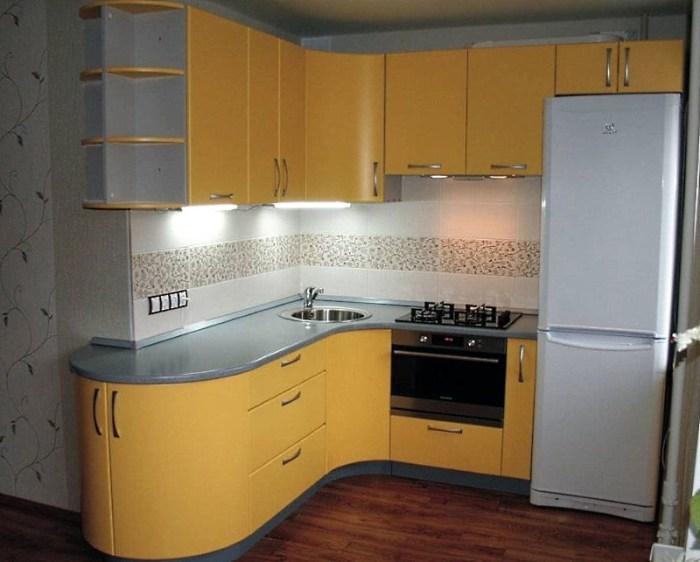 Угловая кухня 4 метра