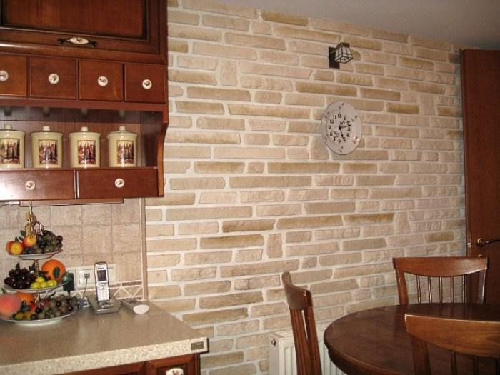 Влагостойкие стеновые панели под кирпич