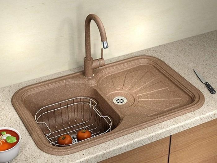 Врезные кухонные мойки