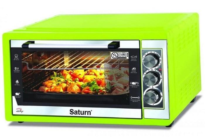 Функциональная электропечь для кухни