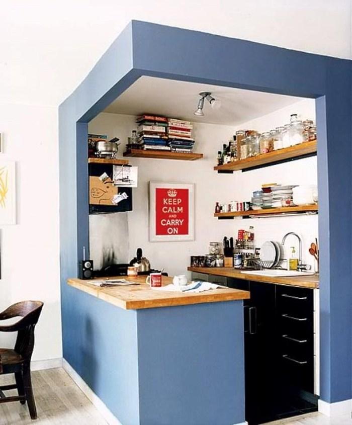 стильная мини кухня