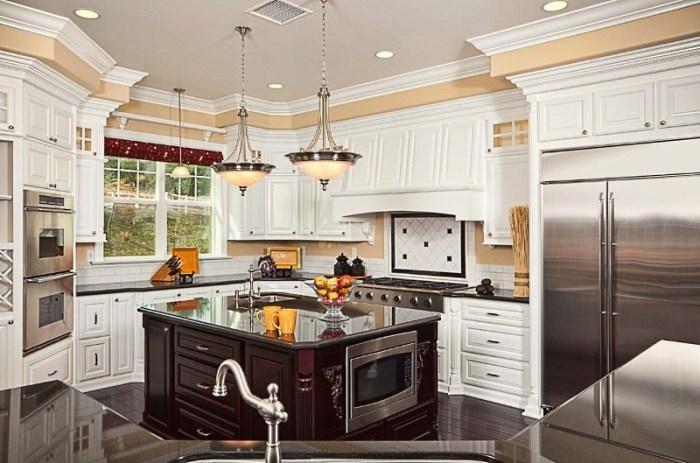 Планировка кухни в частном доме