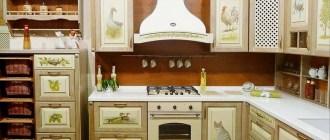 Декупаж мебели на кухне: разные техники, самостоятельно, фотографии готовых работ.