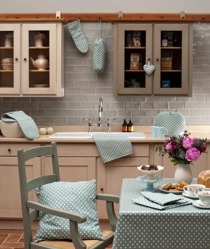 Текстиль в оформлении кухонного пространства