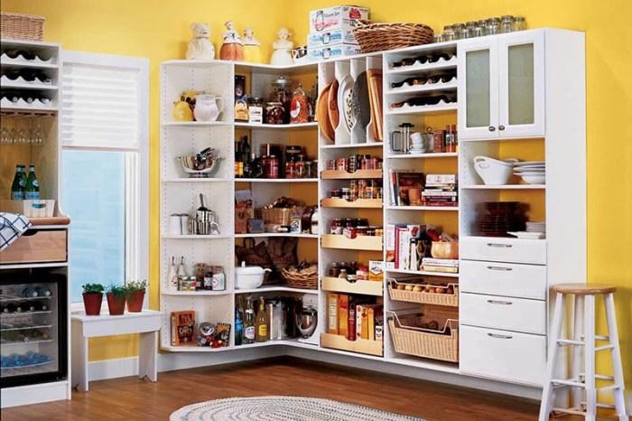 Больше полок и шкафов на кухне