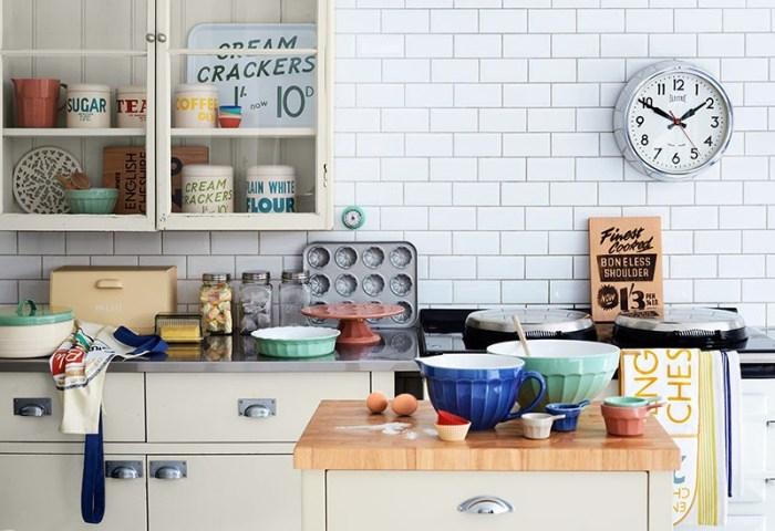 Часы на кухне перед глазами