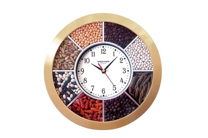 Кухонная тематика для часов на кухне