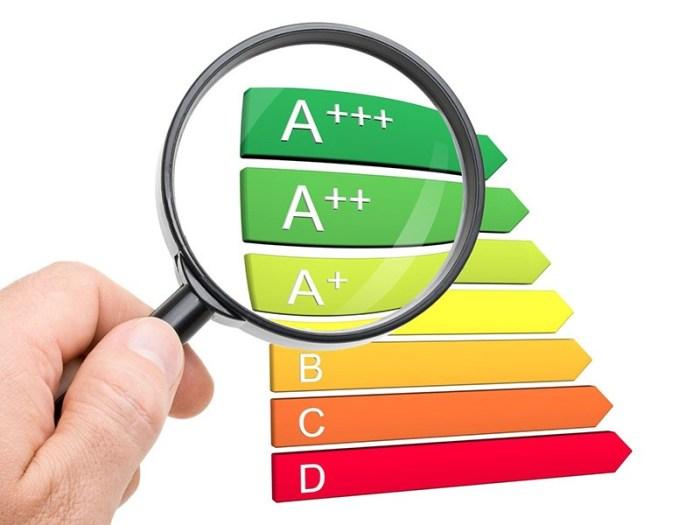 Перечень классов энергопотребления