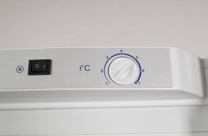 Механический регулятор управления в морозилке