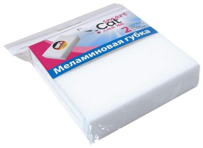 Меламиновая губка в упаковке