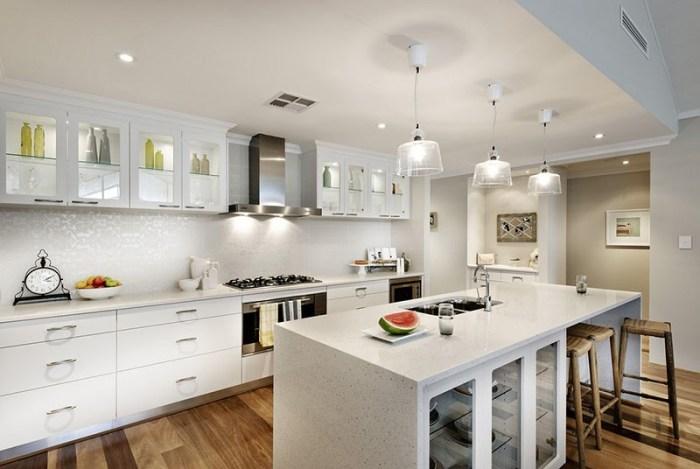 Подсветка верхнего яруса кухонных шкафов