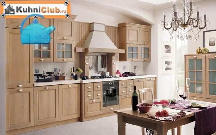 Мебель-в-кухне-из-беленого-дуба