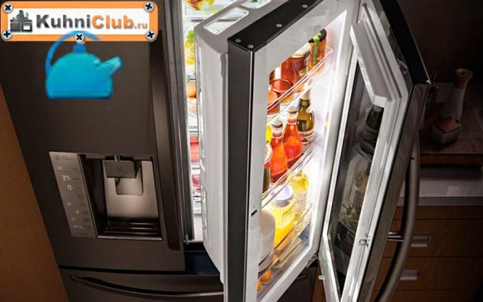 Обзор холодильников со стеклянной дверью